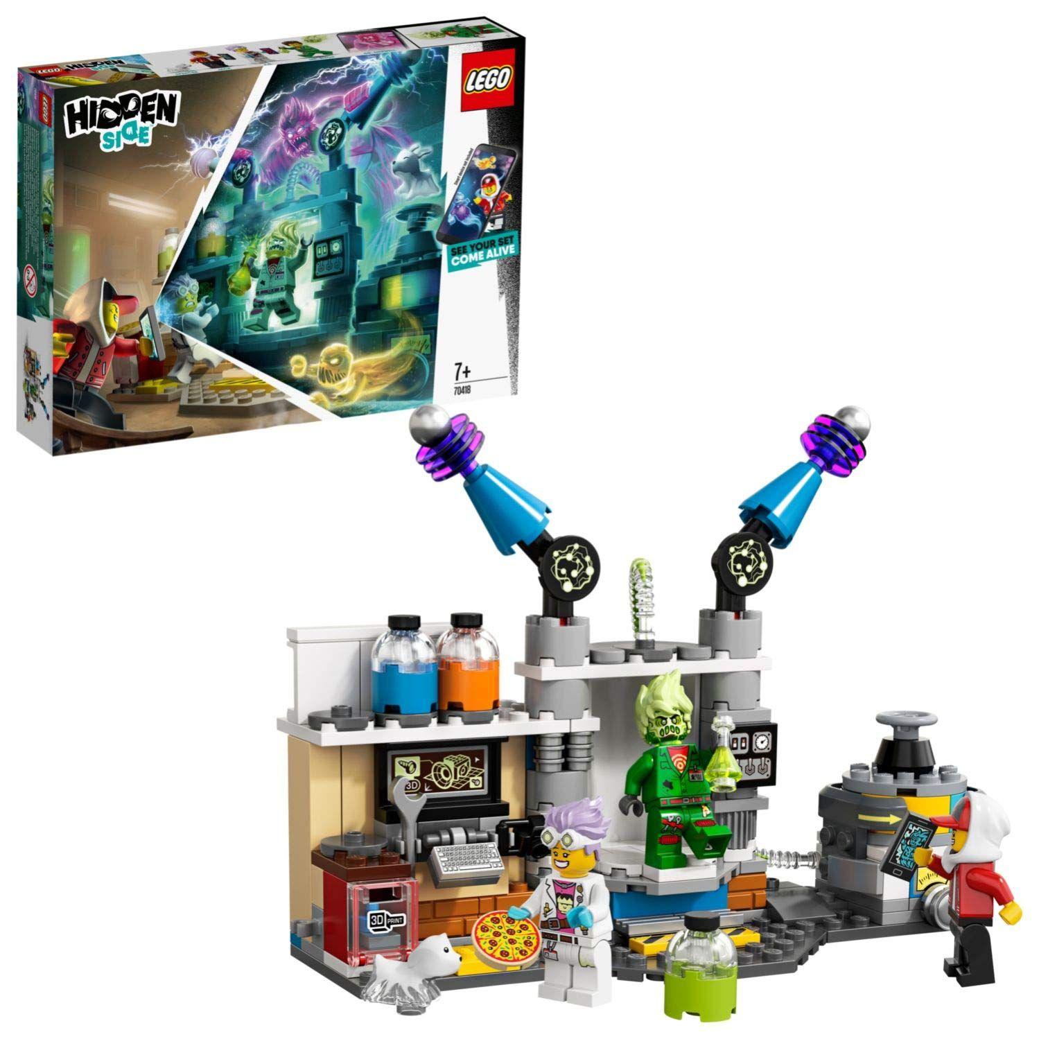 LEGO - Hidden Side Laboratorio de Fantasmas de J. B.