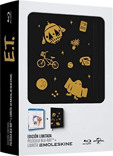 Películas en Blu Ray con libreta Moleskine de regalo