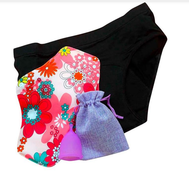 MANDIZ Caja surtido de protección menstrual - 3 piezas