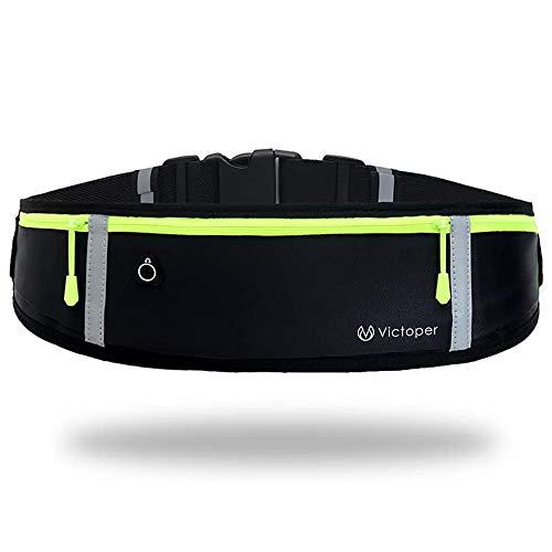 Victoper - Cinturón para correr con cinturón, impermeable