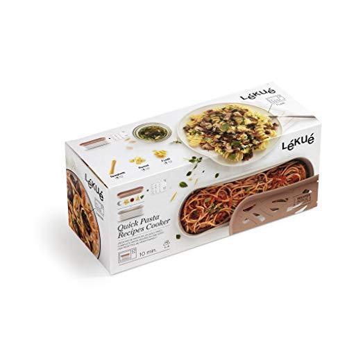 Lékué Recipiente Quick Pasta 14,89€ y Lékué Recipiente para cocinar Quinoa, Arroces 16,49€