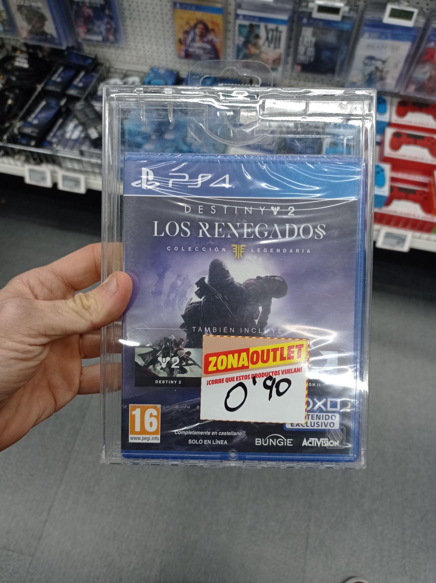 Destiny 2 los renegados colección completa