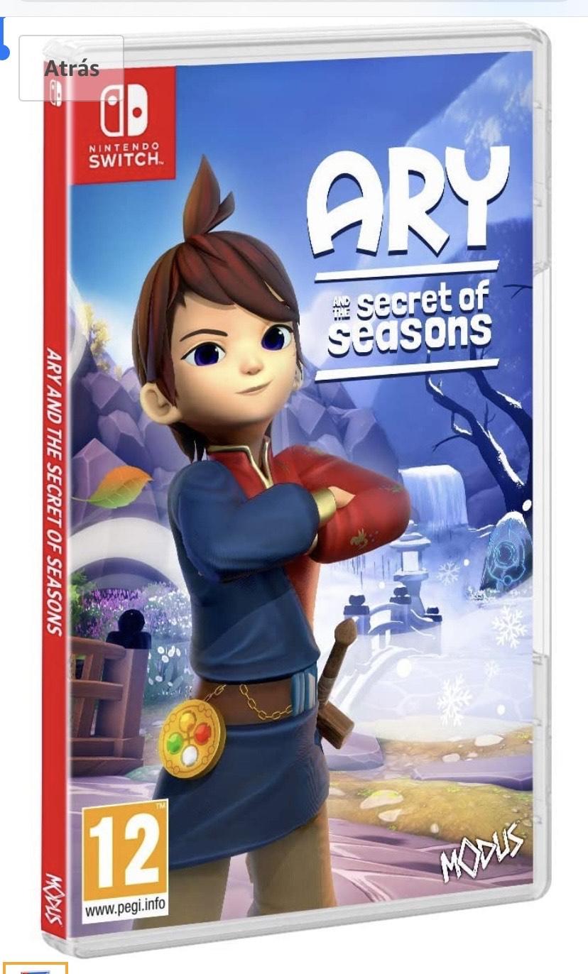 Ary & The Secret of Seasons Nintendo switch