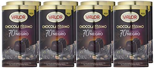 2kg (8 packs de 250g) de bombones Chocolatissimo Valor 70% por 20,4€