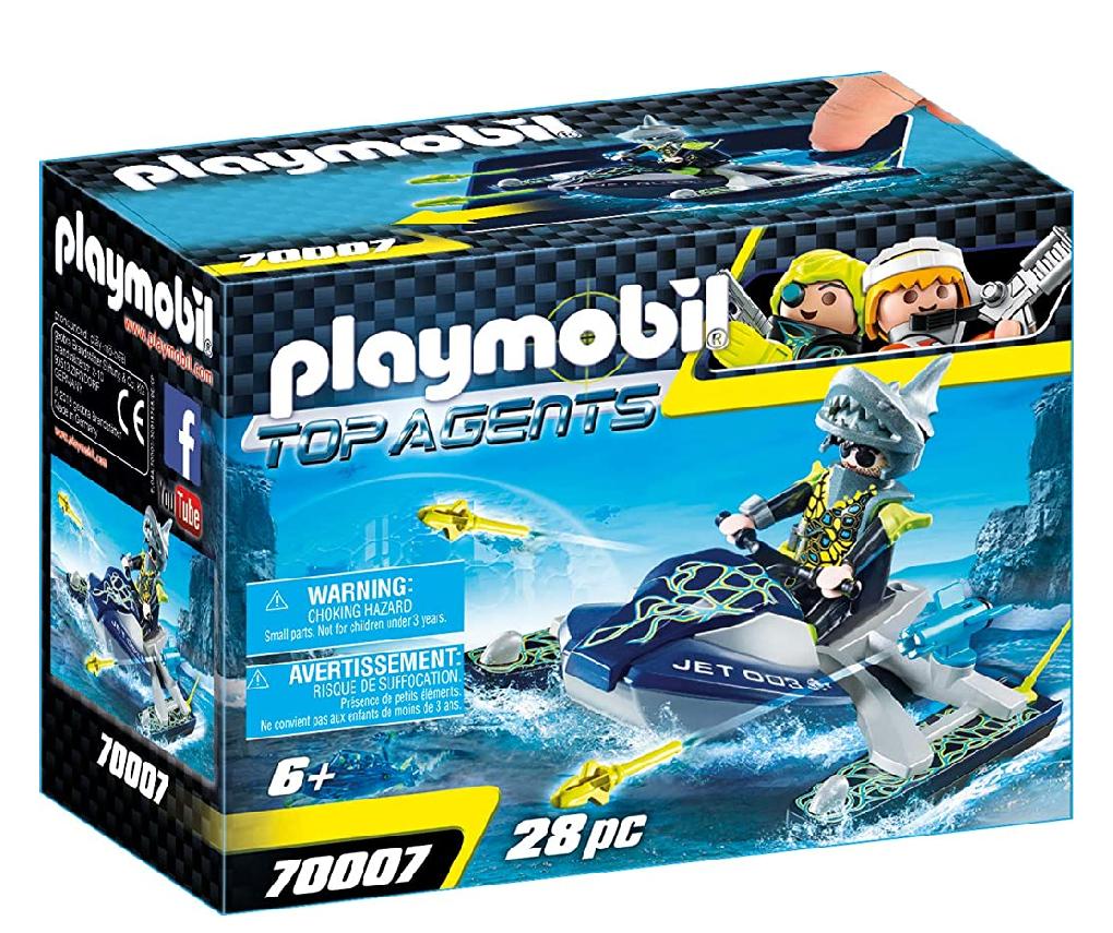 Playmobil Top Agents, nave cohete flotante