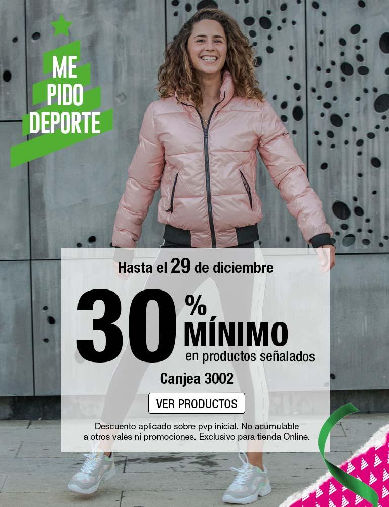 Forum Sport 30% mínimo de descuento.