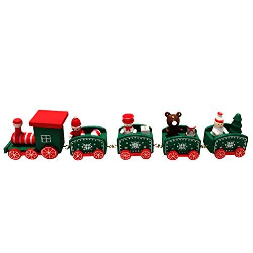 Toyvian Tren de Navidad Santa Claus Juguete para niños