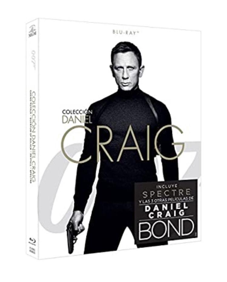 Pack James Bond Blu-ray