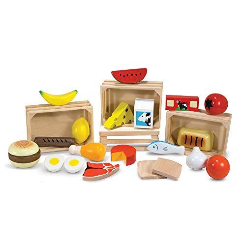 "Set de alimentos set de ""melissa & doug cocina"""