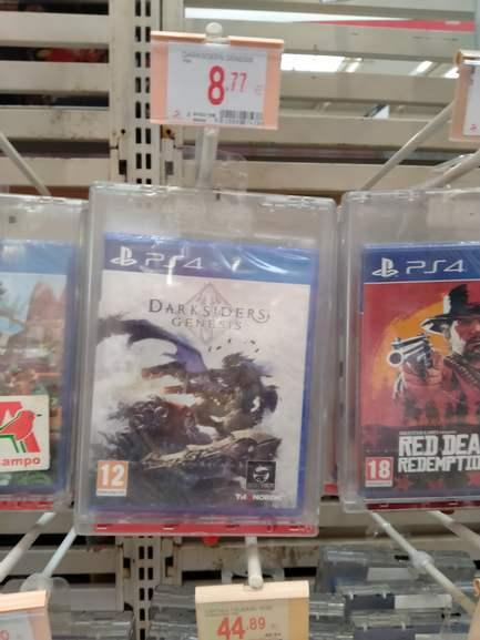 Recopilación de ofertas en juegos PS4 ALCAMPO DE MOTRIL)