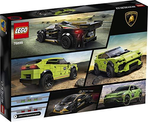 Lego Set de Construcción con 2 Coches para Jugar a las Carreras
