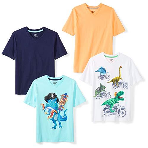 4-Pack Camiseta V-Neck TALLA 3