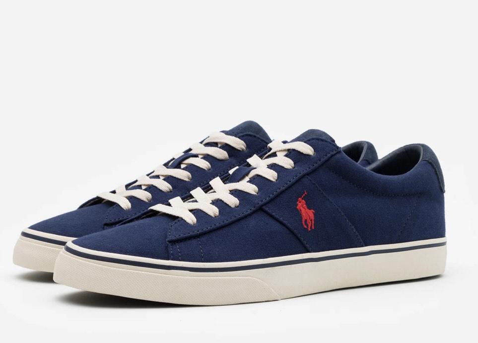 Zapatillas Polo Ralph Lauren modelo SAYER color navy (hombre)