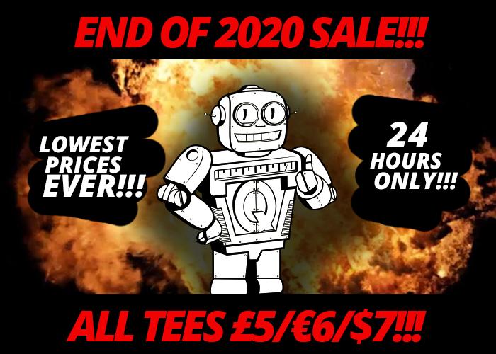 Camisetas Qwertee a 6 euros