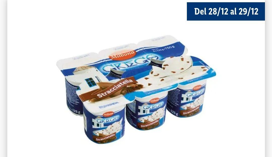 Yogur griego stracciatella, pack 6 (solo 0.99€)