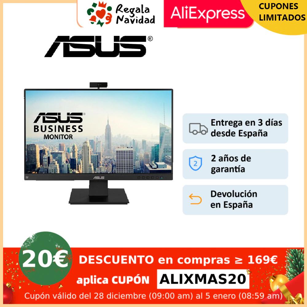 "ASUS BE24EQ, Business Monitor – 23.8"", Full HD, IPS, Frameless, Full HD Webcam, Mic Array, Flicker free, Low Blue Light, HDMI"