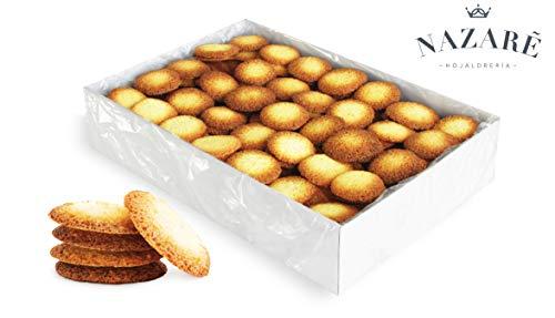 Angélicas, galletas de coco y mantequilla