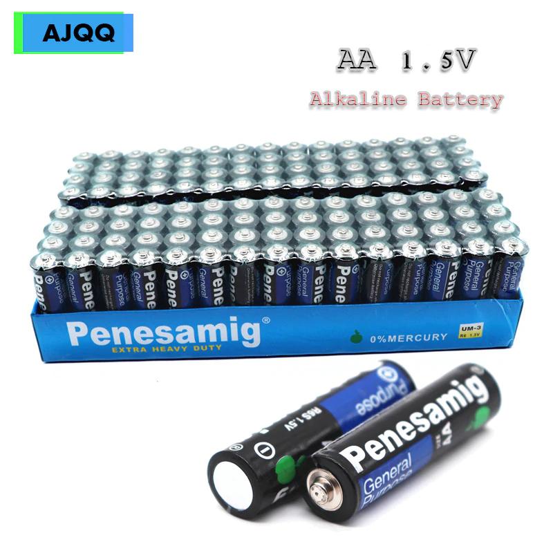 Pack 90 Uds R06 R6 R6 batería seca de carbono, tipo Aa, 1,5 V Ues para calculadora, ratón, Control remoto, despertador