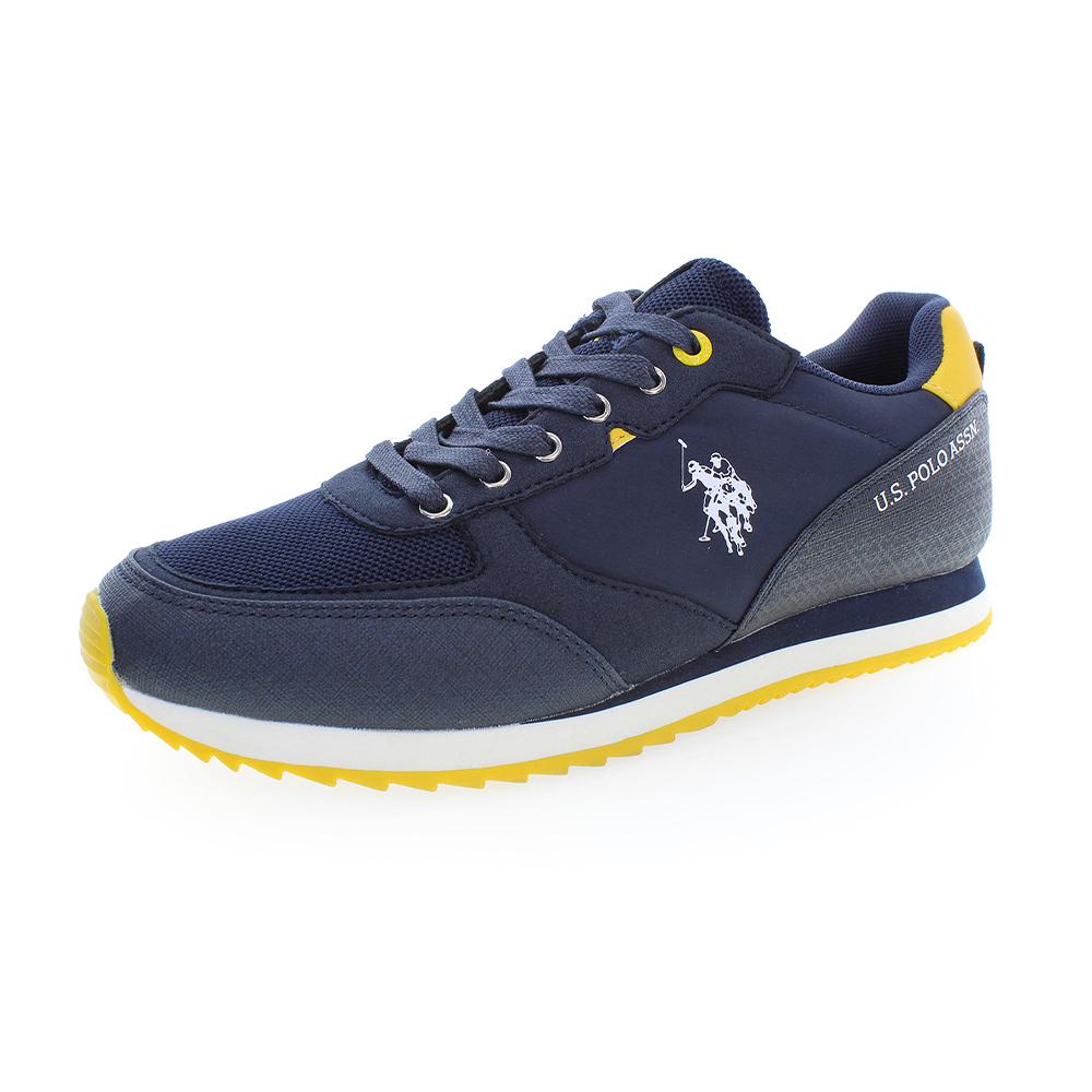 Us Polo Bryson - Zapatillas Hombre Dark Blue/Yellow Zapatillas Casual