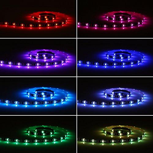 Tomshine 5V 1M 30 LEDs Iluminación RGB