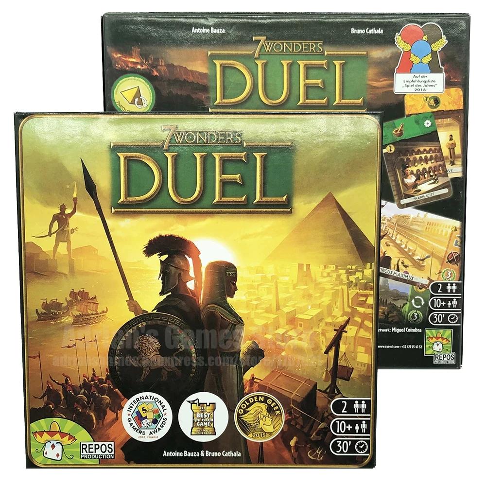 7 Wonders Duel - Ingles - juego de mesa 2 jugadores @Aliexpress