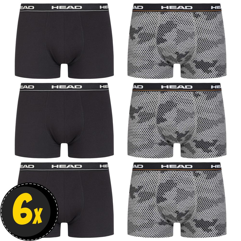 Pack 6X Boxer HEAD Hexa Camo