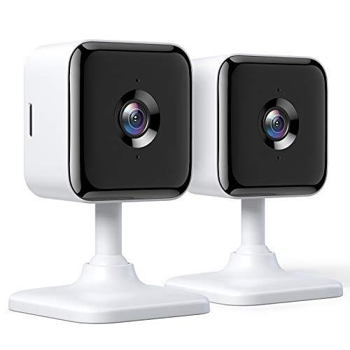 2X Teckin Cam 1080P FHD Cámara de seguridad | Alexa y Google Home