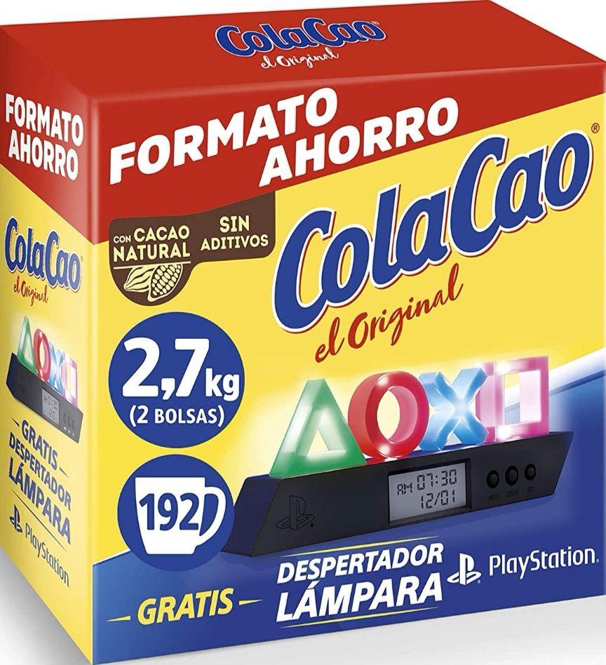 Cola Cao Original: con Cacao Natural 2,7kg + (Despertador PlayStation)