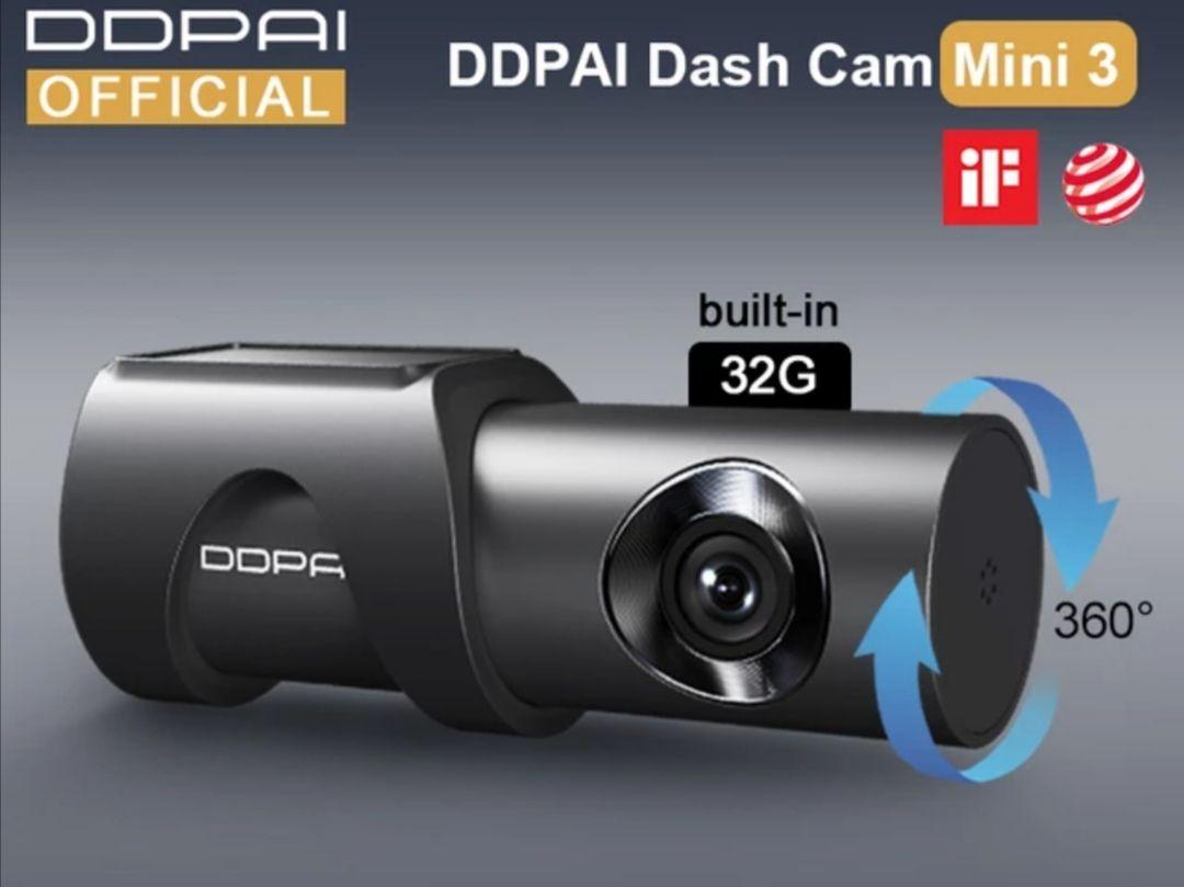 DDPAI-Cámara de salpicadero Mini 3 1600P