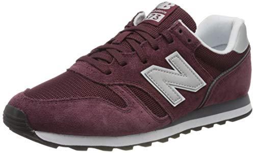 New Balance 373 color burdeos talla 40