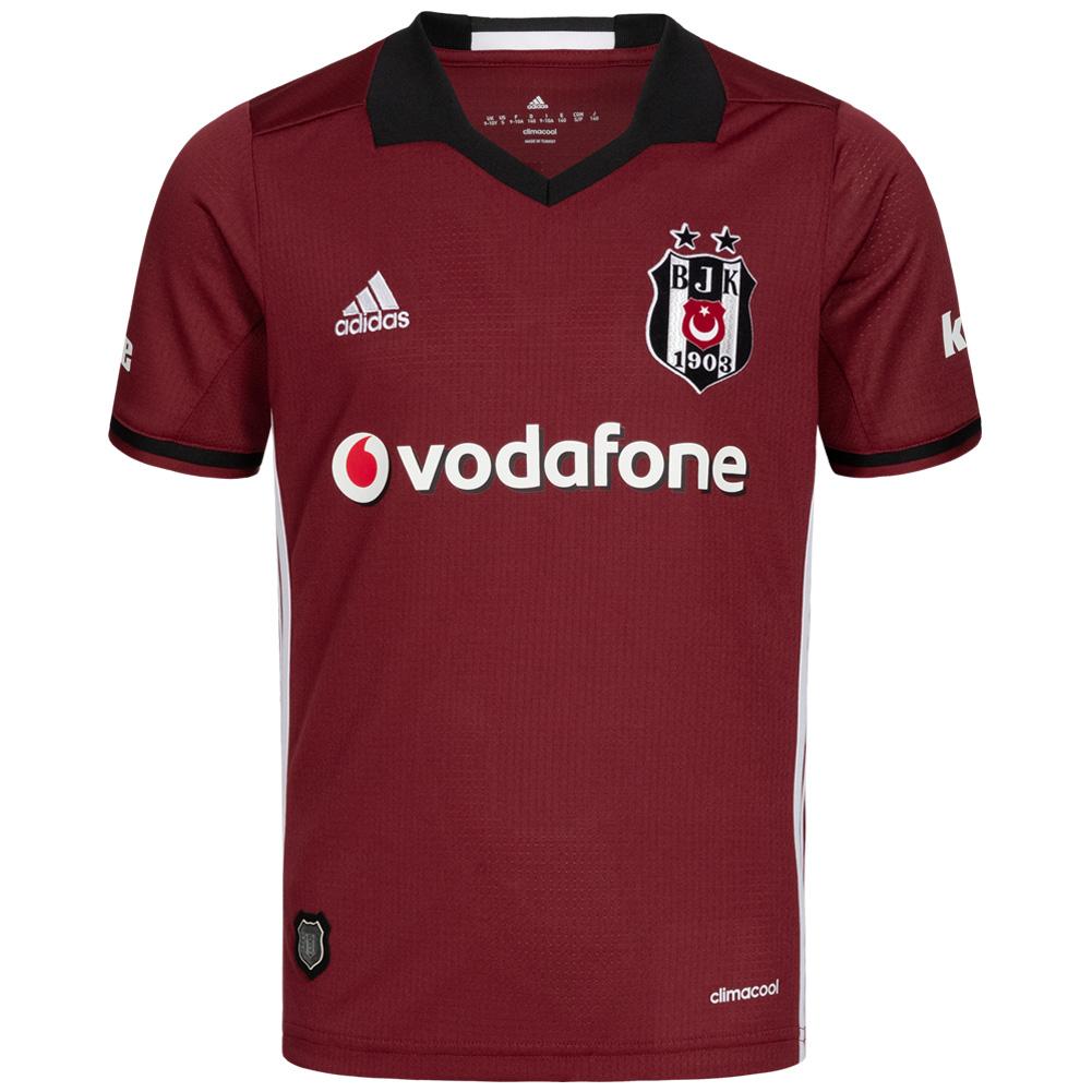 Besiktas JK BJK adidas Niño Camiseta, las 3 equipaciones disponibles