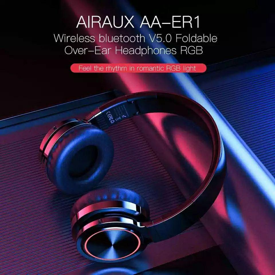 Auriculares Bluetooth 5.0 con colores RGB