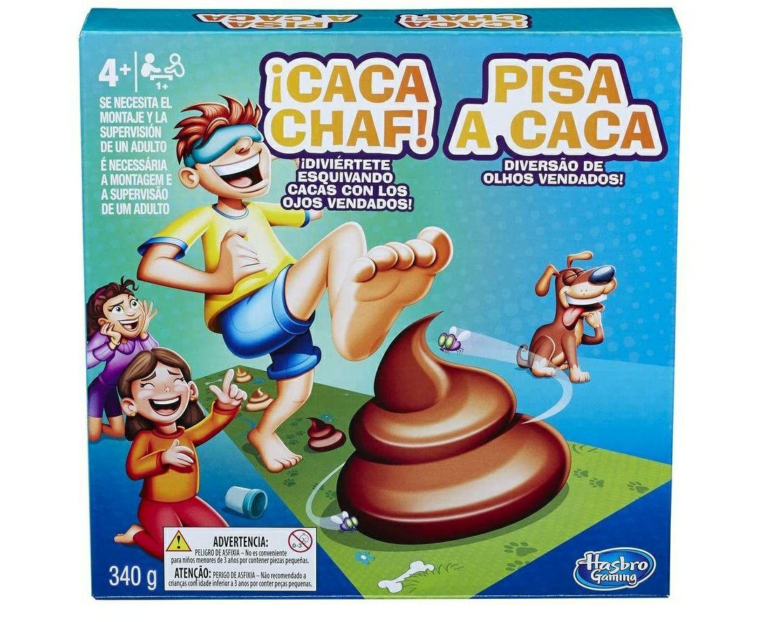 Juego infantil de suelo Caca Chaf!