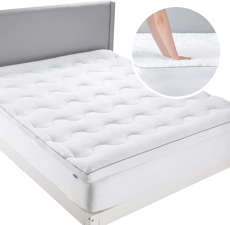 Bedsure protector de colchón hipoalergénico, 134x190/200x3cm