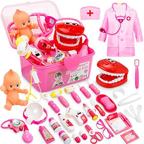 Juguete doctora niñas 43 piezas termina la oferta en una hora