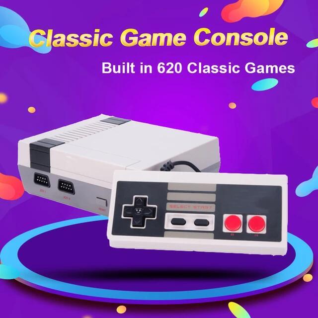 consola de videojuegos AV puerto integrado 620 juegod Retro clásico