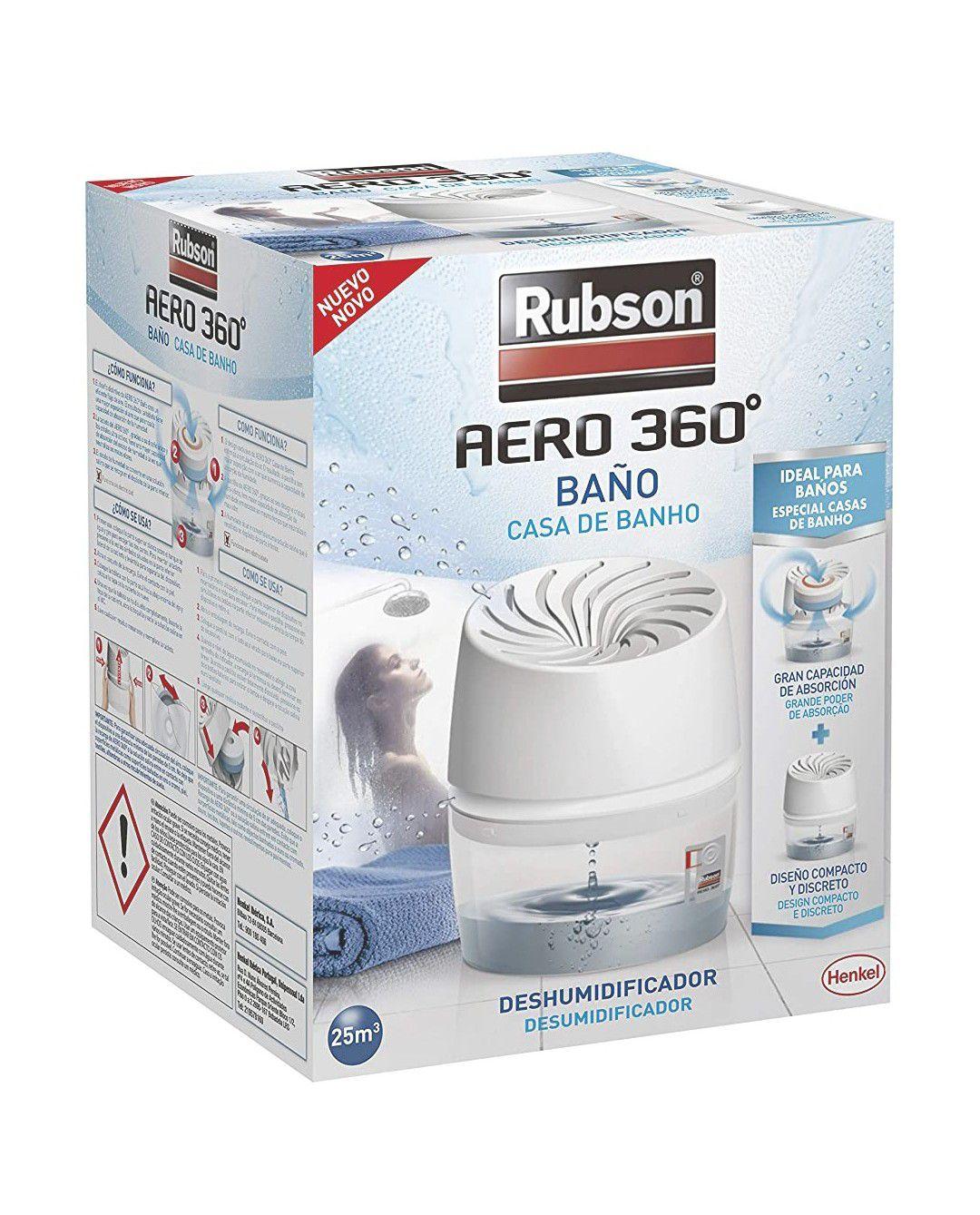 Rubson Aero 360° Deshumidificador portátil sin electricidad