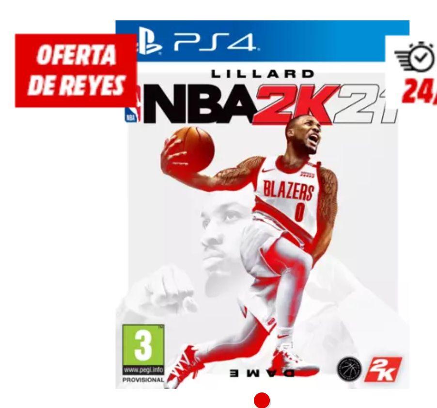 PS4 NBA 2K21 también switch y xbox