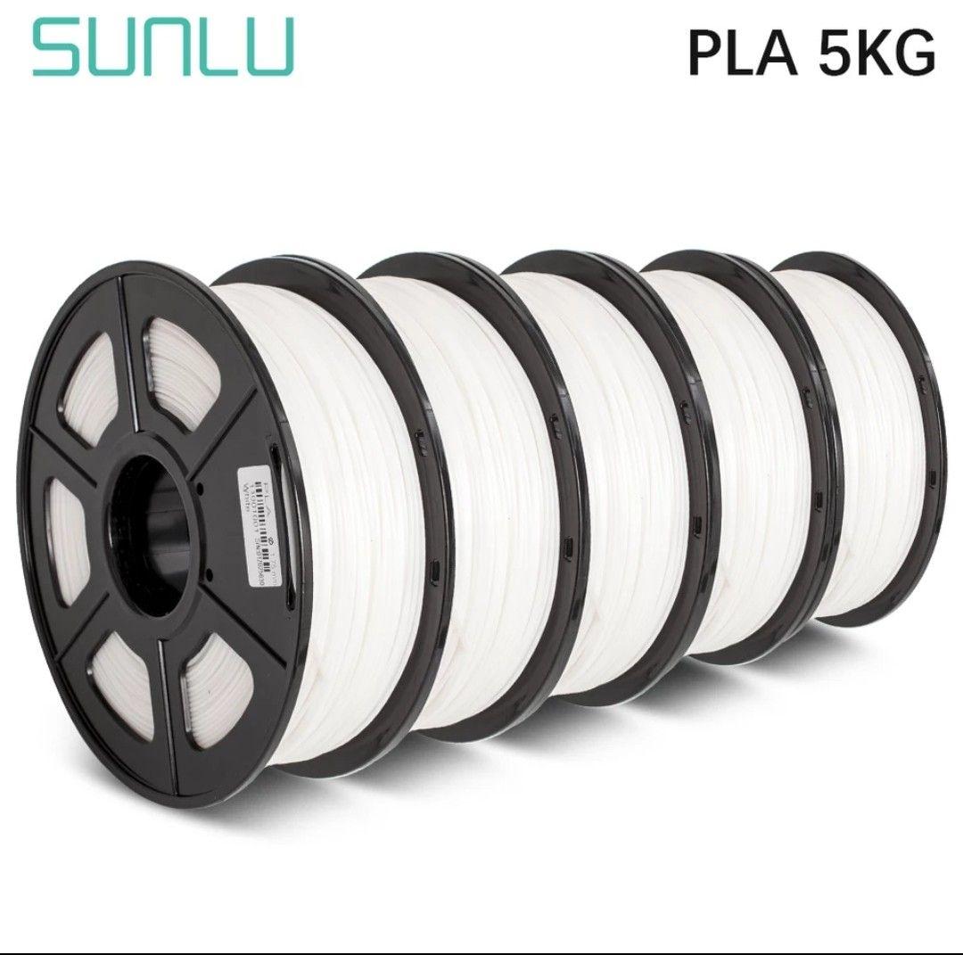 Filamento PLA Sunlu (Pack 5)