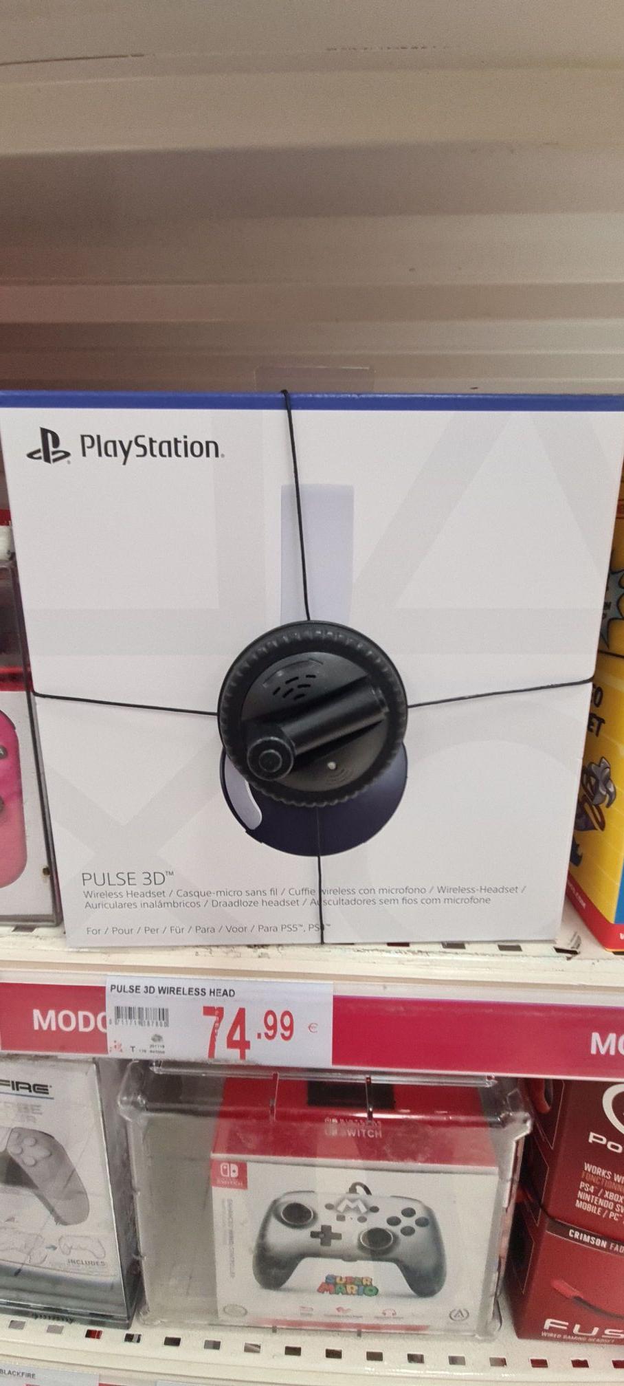 Auriculares Pulse 3d playstation