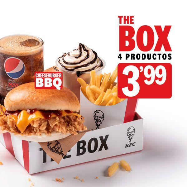 Vuelve The Box KFC: 4 productos por 3'99€