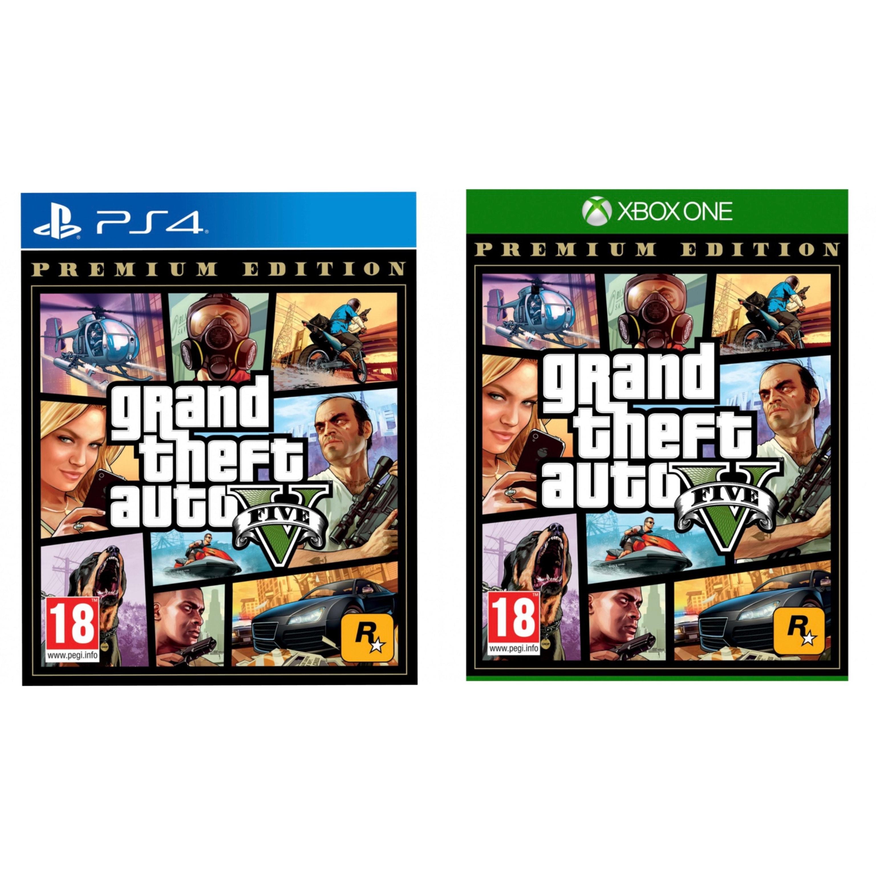 PS4 / Xbox One - GTA V (Grand Theft Auto V) - Premium Edition