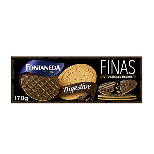 FONTANEDA - Digestive Finas Chocolate Negro
