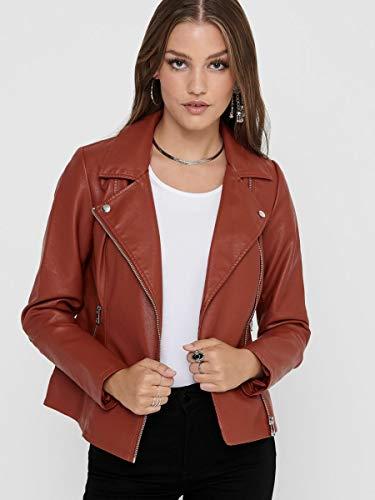 Only Onlmelisa Faux Leather Biker CC Otw Jacke para Mujer