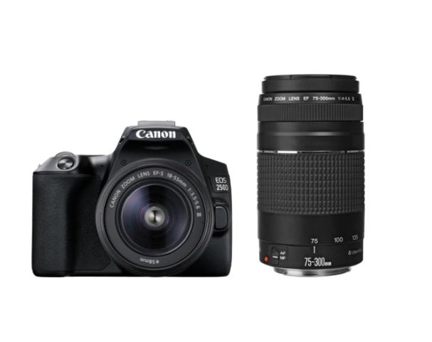 Canon Eos 250d pack con 2 objetivos