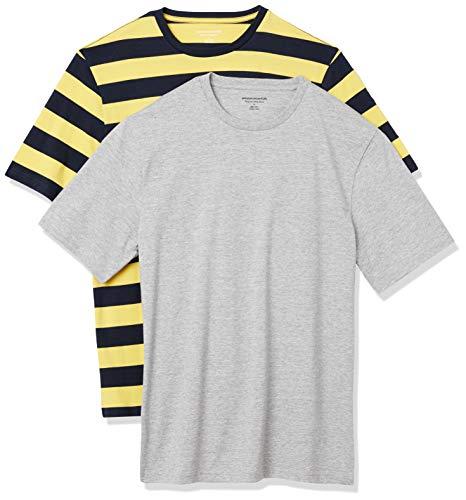 "Amazon Essentials ""Pack de 2"" Camiseta Hombre TALLA 50-52"