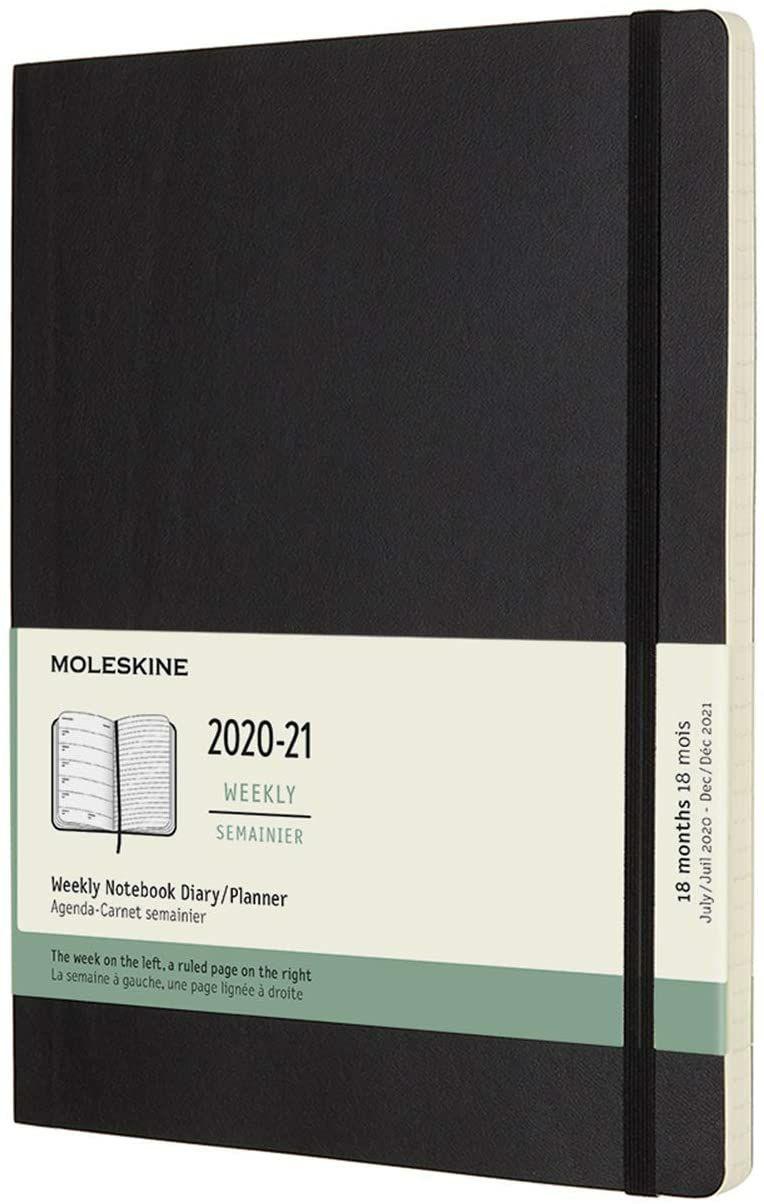 Agenda 2021 Moleskine 18 meses ( desde Julio del 20 hasta diciembre del 21)