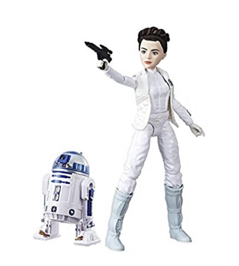Star Wars - Destiny, Figuras de Leia y R2D2