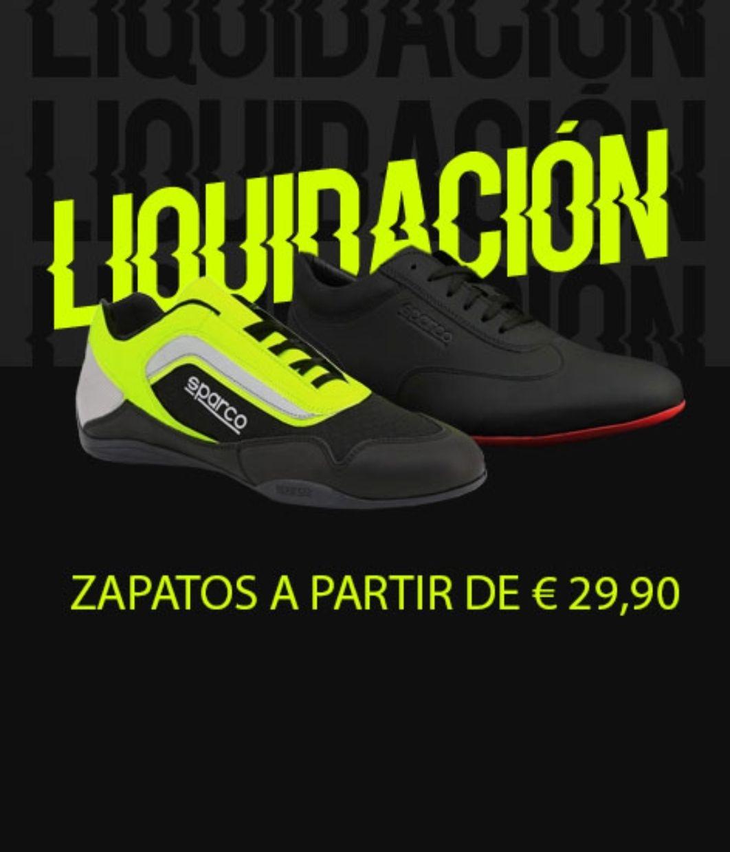 Liquidación zapatillas Sparco