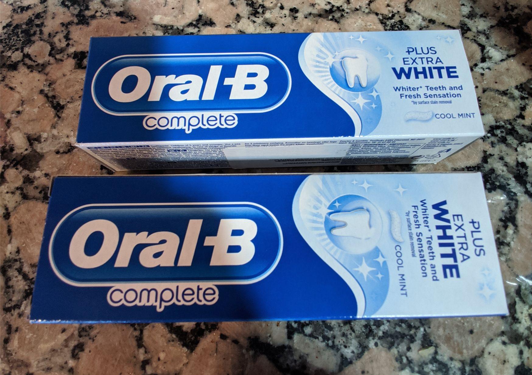 Dealz Motril - Dos Oral B Extra White al precio de uno